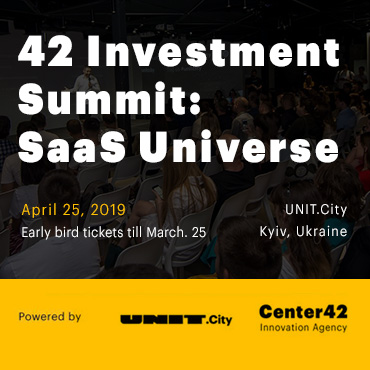 42 Investment Summit: SaaS Universe