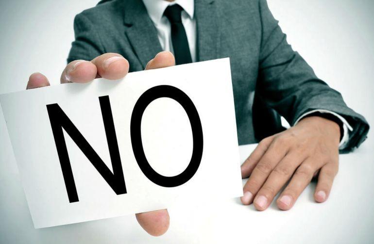 ТОП 5 причин, чому вам можуть відмовити у фінансуванні